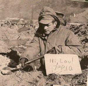 Welton Ralph Abell - Welton Ralph Abell Digging a fox hole
