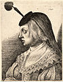 Wenceslas Hollar - Woman with a flat black houpette (State 2).jpg