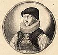 Wenceslas Hollar - Woman with dark cap and pleated ruff (State 1).jpg
