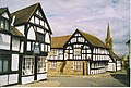 Weobley, Corner House and Red Lion Inn. - geograph.org.uk - 150532.jpg