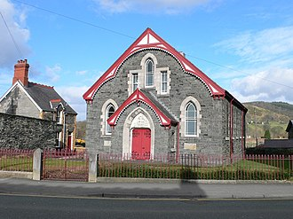 Edeirnion - Image: Wesleyan Chapel. Corwen geograph.org.uk 712640