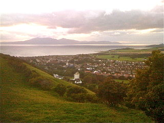 West Kilbride Village in North Ayrshire, Scotland