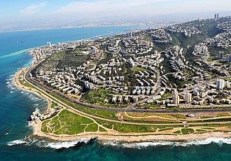Haifa - Western Haifa from the air