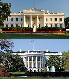 White House Official residence and workplace of the President of the United States