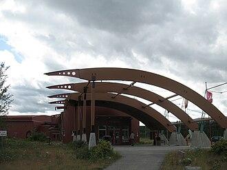 Interpretation centre - Yukon Beringia Interpretive Centre