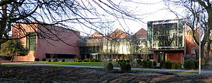 Whitworth Art Gallery - The Whitworth Gallery extension