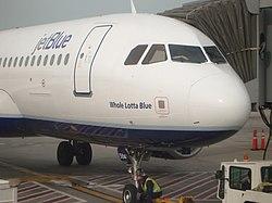 """JetBlue Airbus A320 """"Whole Lotta Blue"""""""