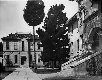 Joseph Widney - Widney Hall in 1915
