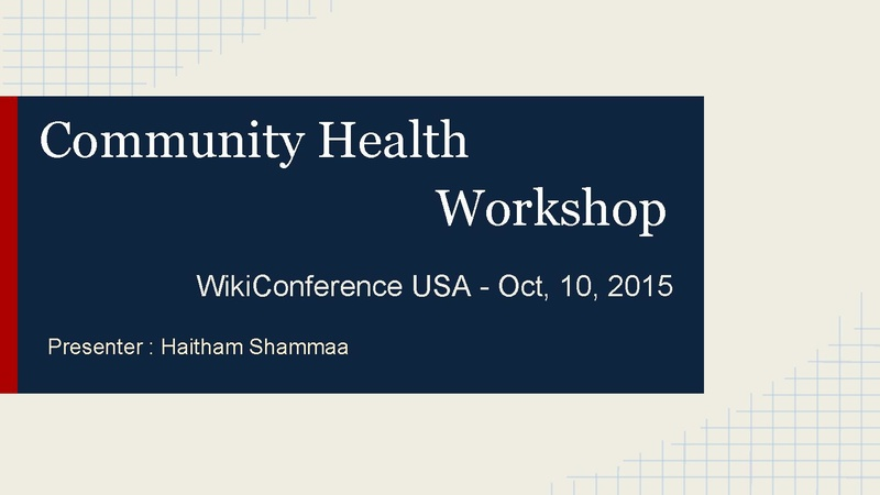 File:WikiConference USA - Community Health.pdf