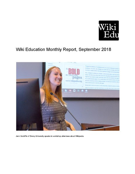File:Wiki Education Monthly Report 2018-09.pdf
