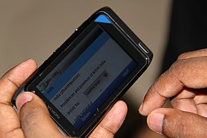 Wiki India on Nokia.JPG