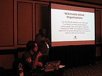 Wikipedians at Wikimania 2018 learning days 02.jpg