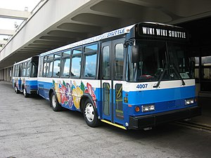 Wiki Wiki Shuttle - Wiki Wiki Shuttle bus
