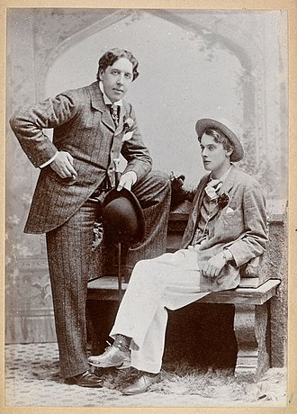 Lord Alfred Douglas - Oscar Wilde and Lord Alfred Bruce Douglas, May 1893