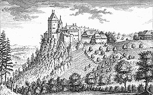 S Schloss Wildestäi 1758, Stich vom David Herrliberger