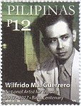 Wilfrido Guerrero 2017 stamp of the Philippines.jpg