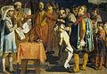 Willem III, graaf van Holland, geeft opdracht de baljuw van Zuid-Holland te onthoofden, 1336 Rijksmuseum SK-C-529.jpeg