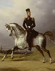 Equestrian Portrait of William II, King of the Netherlands