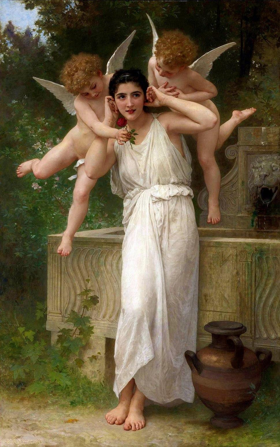 William-Adolphe Bouguereau (1825-1905) -Youth (1893)