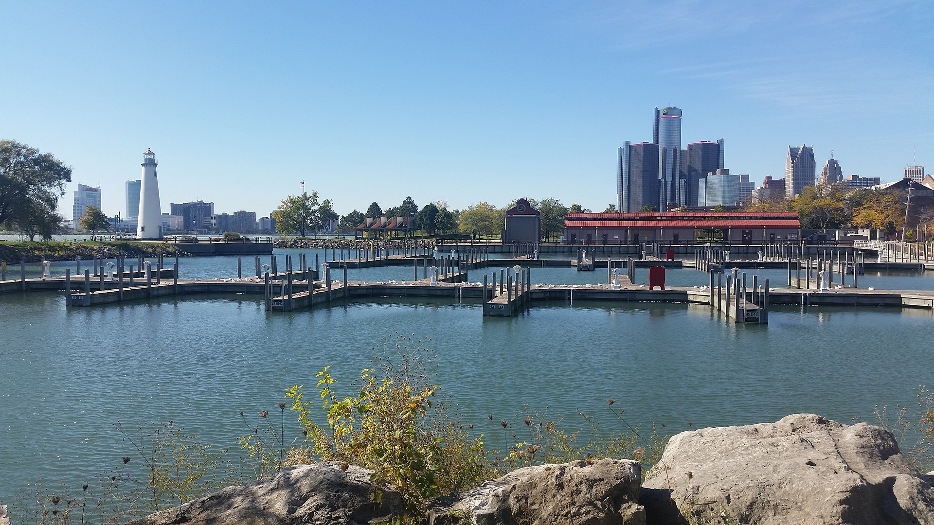1920px William G. Milliken State Park and Harbor