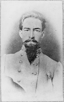 William Hugh Young, 1838-1901, head and shoulders portrait, facing slightly right. Colonel, 9th Tex. Infantry LCCN2005694774.jpg