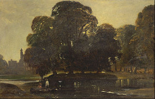 A View of Eton and the Fellows Eyot