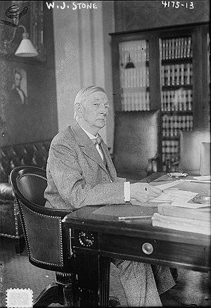 William J. Stone - Stone in 1917