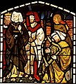 William Morris Tristram and Isolde at King Arthur's court.jpg