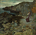 William Orpen - Rocky Coast Scene at Howth.jpg