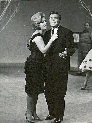 Wilma De Angelis - Wilma De Angelis and Joe Sentieri in 1960