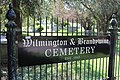 Wilmington and Brandywine Cemetery Entrance Sign.jpg