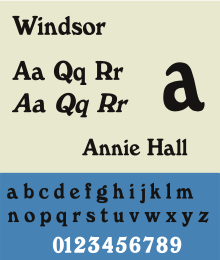 Windsor fontsample.svg