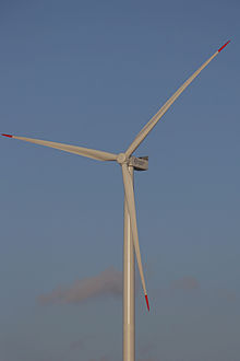 Several Modern Wind Turbines Use Rotor Blades With Carbon Fibre Girders To Reduce Weight