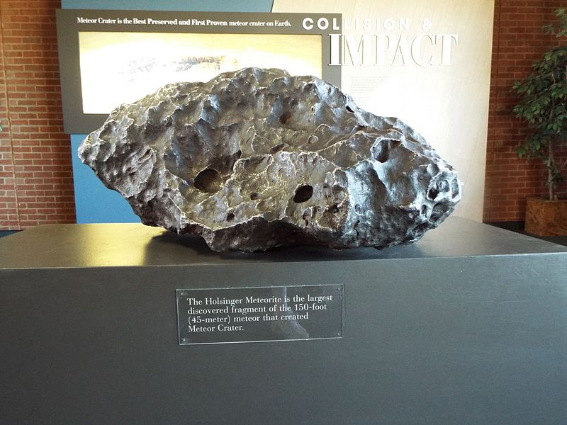 File:Winslow-Meteor Crater-The Holsinger Meteorite.jpg