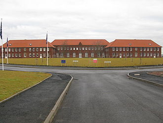 Winston Barracks - The redeveloped accommodation block at Winston Barracks