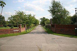 Witham St Hughs village in United Kingdom
