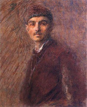 Władysław Podkowiński - Self-portrait, 1887 (age 21)
