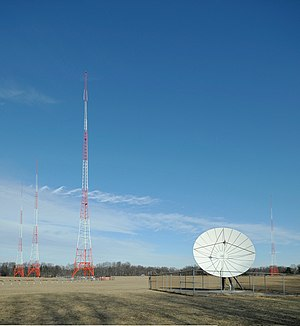 WMAL (AM) - WMAL radio towers in Bethesda, MD