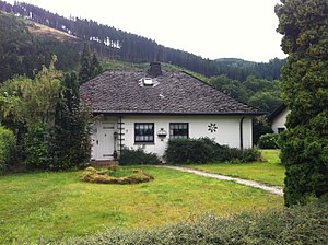 "Carl Schmitt - ""San Casciano"", home of Carl Schmitt in Plettenberg-Pasel from 1971 until 1985"