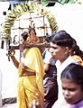 Woman bearing kavadi, photographed February 1969 × July 1971.jpg