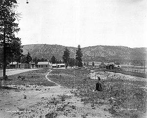 Woodland Park, Colorado - Image: Woodland Park, Colorado (1887)