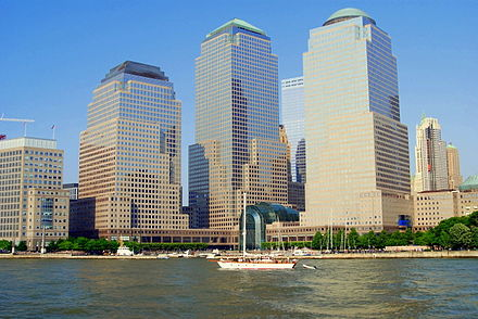 Brookfield Place as seen in 2006, when it was the World Financial Center World Financial Center 2006.jpg