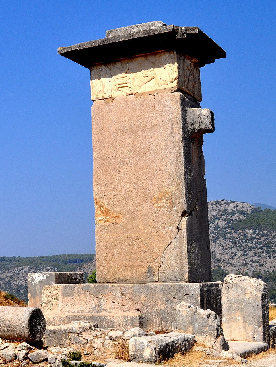 Xanthos sarcophagus (cropped)