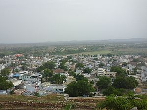 Yadgir - Yadgir City view from fort