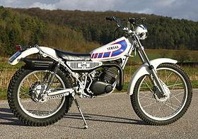 moto yamaha trial