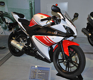 Yamaha YZF-R125 Sport motorcycle made since 2008