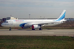 Yamal Airlines - Yamal Airlines Airbus A321, in Salekhard Airport