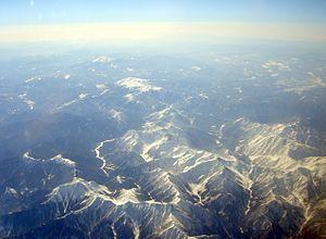 Hida Mountains - Image: Yari Kamikohchi