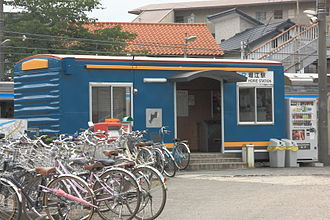 Horie Station - Horie Station in 2009