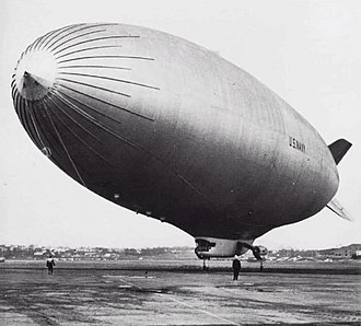 N-class blimp - A ZPG-3W of Airship Airborne Early Warning Squadron ONE (ZW-1) in 1960.